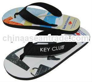 Riviera Surf Full Color Surf-style Sandals W/Fabric Straps