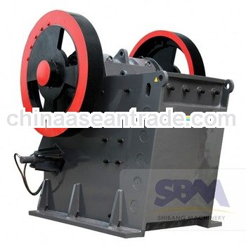 SBM PEW ballast crushing machine with high capacity and low price