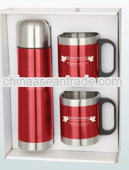 Stainless Steel Mug & Thermos Set
