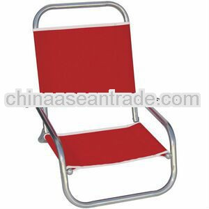 Us Made High Back Folding Aluminum Beach Chair