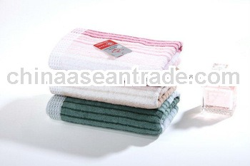 stripe dobby cotton yarn-dyed towel