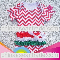 2013 New arrival fashion hottest Christmas baby romper