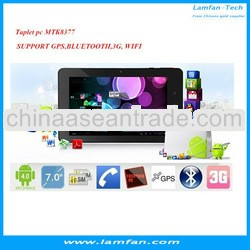 3G Phone Call Tablet PC MTK8377 Dual Core 1.5GHz GPS FM TV Dual SIM Bluetooth 1G 8G 7 inch tablet 10