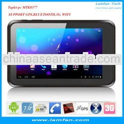 "7"" 3G Dual SIM Card Phone Call Tablet PC Android 4.0 MTK8377 Dual Core Bluetooth Multi-touch"