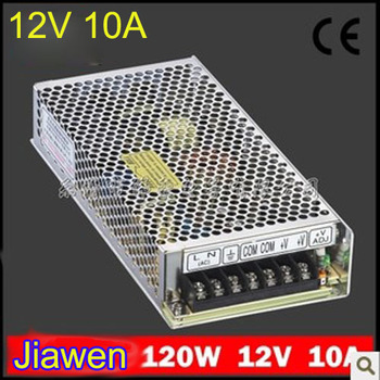 120W 12V 10A Switching Power Supply,100~240V AC input,12V Output  for led strip Free shipping 1pcs