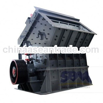 SBM low price high capacity china impact crushing machine for sale