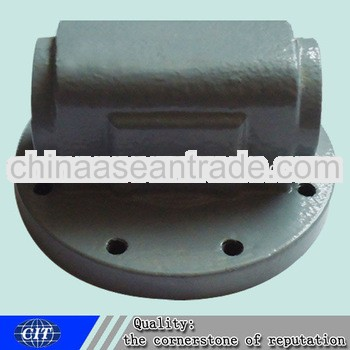 ductile iron shell coated sand casting for valve part valve castings